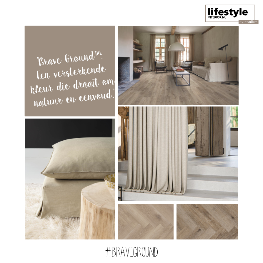 "Trendkleur Flexa ""Brave Ground"" 2021 - lifestyle-interior"